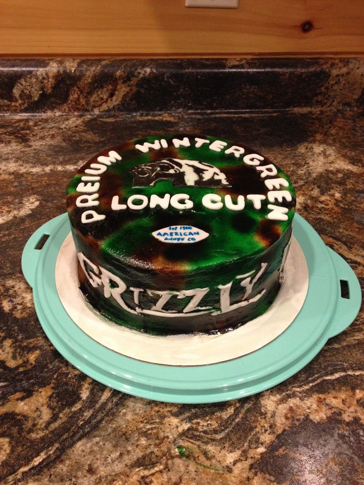 Grizzly tobacco cake my next bday cake:D
