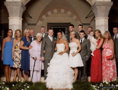 Wayn Rooney Coleen S Wedding Day Wag Pinterest Wayne And