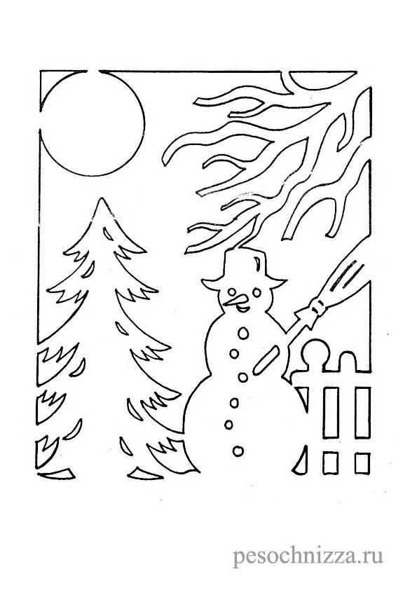 Новогодние шаблоны для украшения окон. Обсуждение на LiveInternet - Российский Сервис Онлайн-Дневников