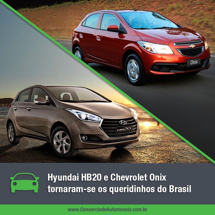 Os dois modelos caíram no gosto dos consumidores! Veja: https://www.consorciodeautomoveis.com.br/noticias/hyundai-hb20-e-chevrolet-onix-sao-os-queridinhos-do-brasil?idcampanha=206&utm_source=Pinterest&utm_medium=Perfil&utm_campaign=redessociais