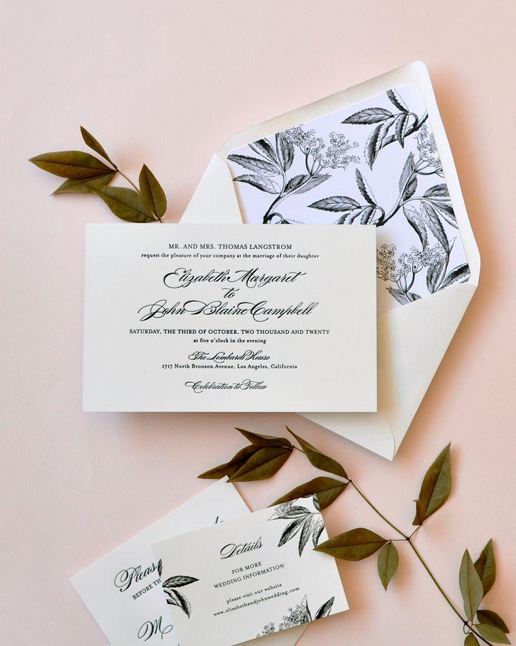 583 best The Wedding Invitation images on Pinterest