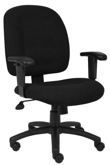 Boss Task Office Chair B495 - Discount Office Chairs - Sale Price:$131.00