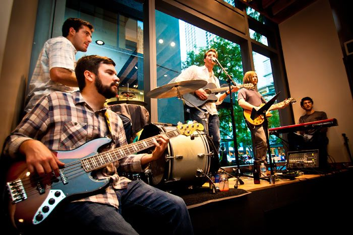The Great Divide is a Chicago-based soul-and-blues rock band that is available for corporate events. The group has played at festivals like ... Photo: Cory Dewald
