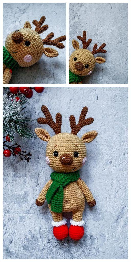 Amigurumi Cute Deer Free Sample – FREE AMİGURUMİ CROCHET
