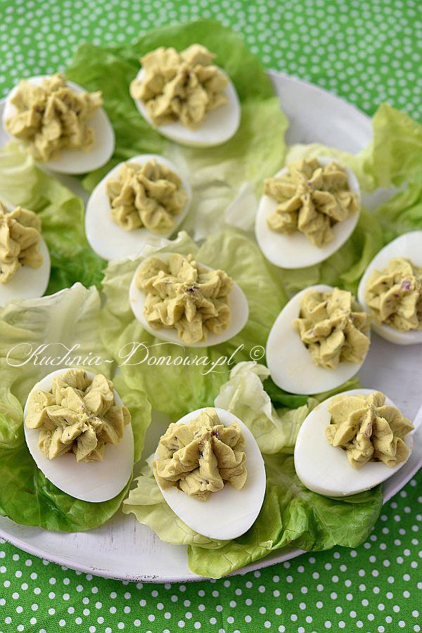 Jajka faszerowane z awokado