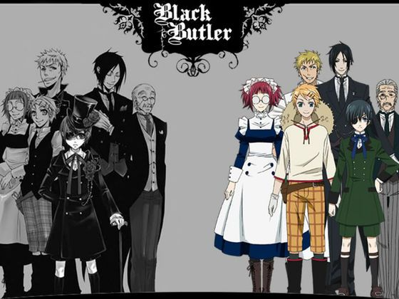"""Find out what black butler character your soul connects to (Hehe). (Did you get my soul joke??? """"Laughs like the Undertaker behind screen"""")"""