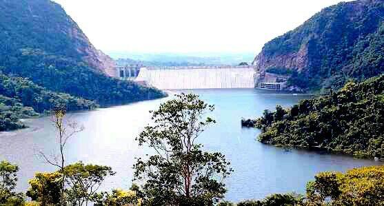 Represa hidrosogamoso... Santander-Colombia.