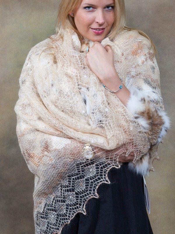 Knitting Shawl Russian : Desert rose orenburg shawl historically in russia a