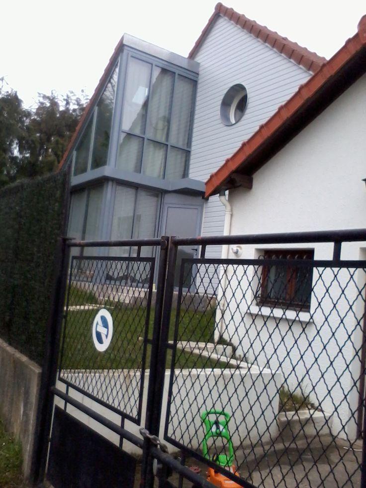 33 best Vérandas \ bow window images on Pinterest Conservatories - cout plomberie maison neuve