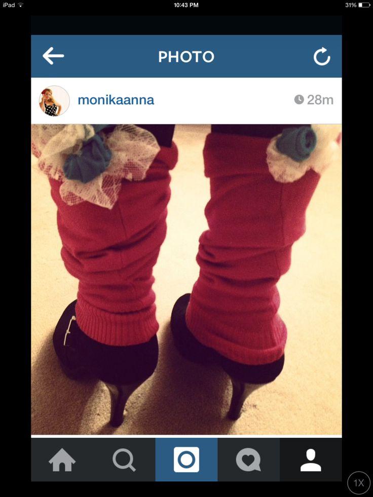 Leg warmers! $20/each info@monikablichar.com