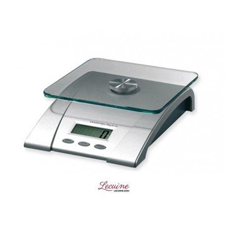 Balança digital de cozinha modelo 97521 ILSA com capacidade para pesar até 5 kg  www.lecuine.pt