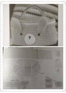 Cute Animal Bag Crochet ⋆ Crochet Kingdom