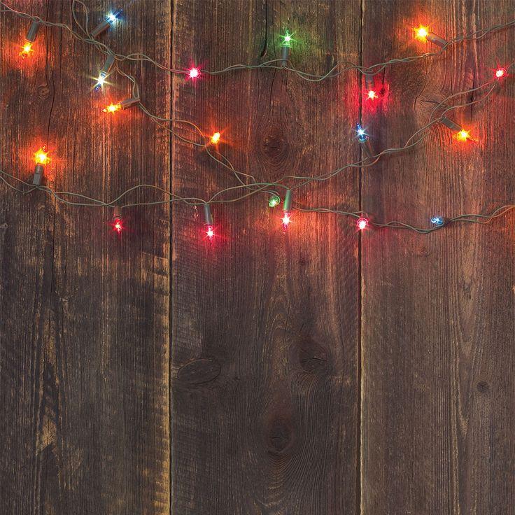 Christmas Light Planks Photo Backdrop – PepperLu