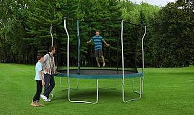 12 Ft. Enclosed Trampoline - $179.99 at Kmart (Reg. 350!!)