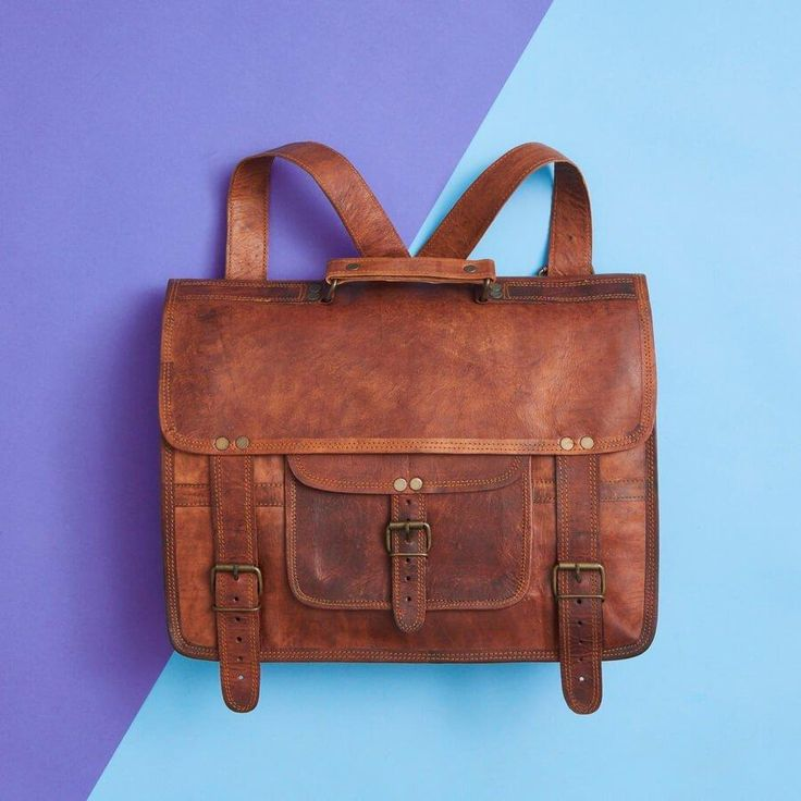 VIDA Statement Bag - Patina Diagnol by VIDA