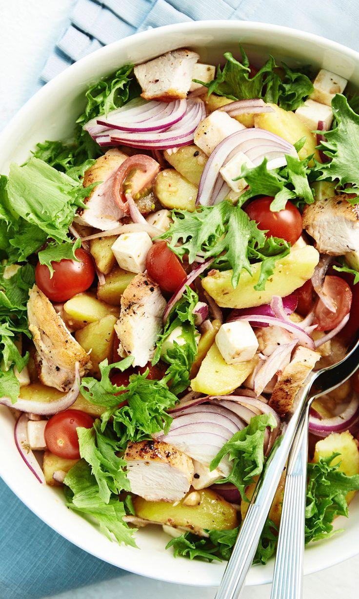 Broileri-perunasalaatti | Maku
