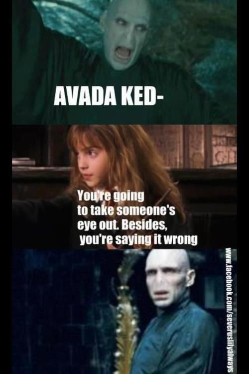 Women rock!  100 Harry Potter Memes That Will ~Always~ Make You Laugh