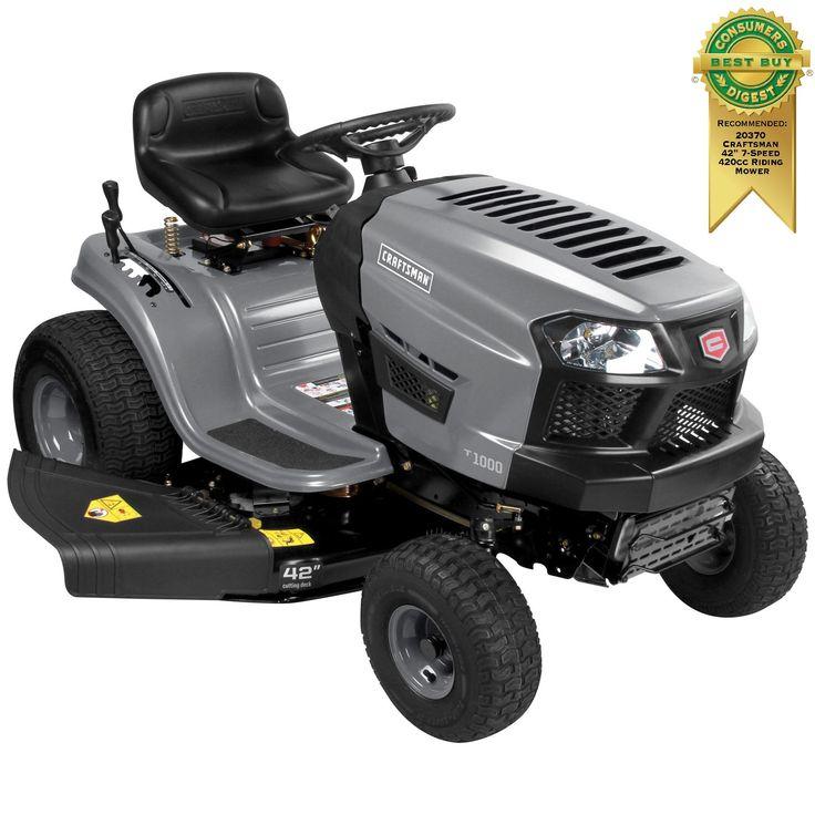 Sears.com | Craftsman riding lawn mower, Riding lawn ...