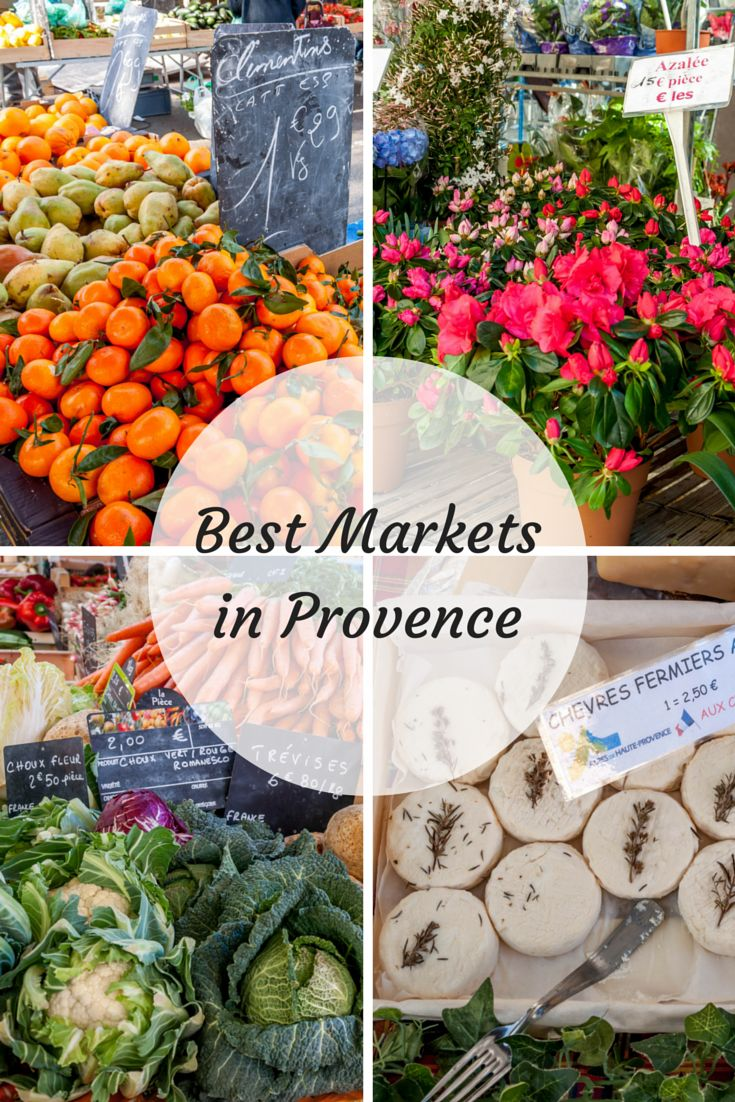 Markets in Provence overflow with brilliant vegetables, colorful flowers, and more. Here's a look at seven of the best markets in the South of France.