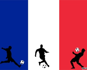 France Soccer PowerPoint - This was inspired by World Cup 2010. Great for fans of this France Soccer team. Make a tribute ppt presentation about the team or your favorite player.