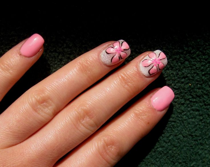 nails#flowers#pink by Ani's Nails