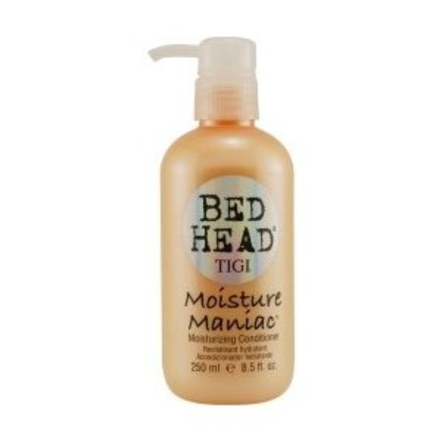 I'm learning all about Bedhead Moisture Maniac Conditioner Tigi Hair Products Conditioner at @Influenster!