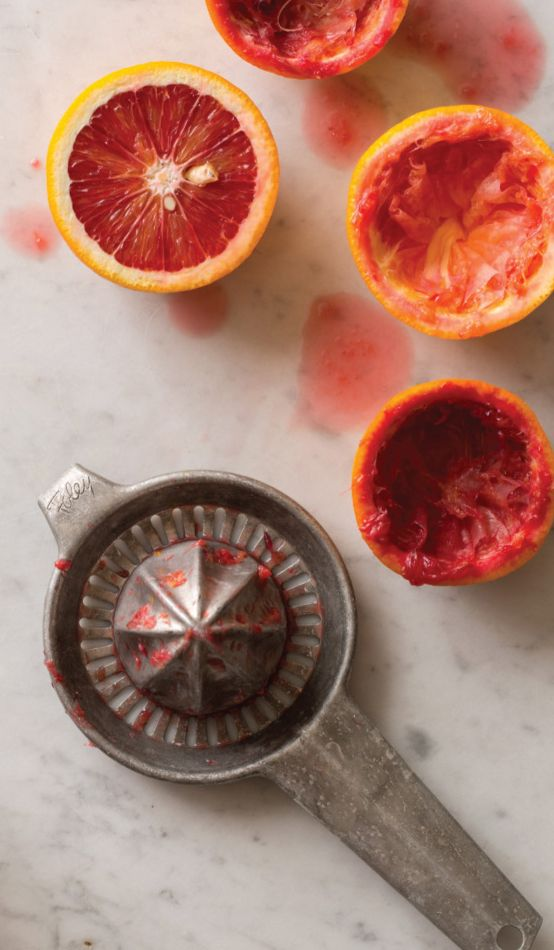 Bloody Good! Blood Orange Mimosas