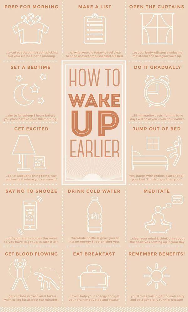 15 Tipps zum Aufwachen und zur Verbesserung des Morgens