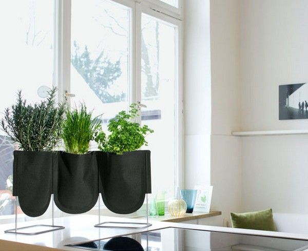 Practical Urban Hanging Gardens by Patrick Nadeau. Cool w/ @CostaFarms plants: Interior, Idea, Can, Bag, Plants, Urban Garden, Kitchen, Hanging Gardens