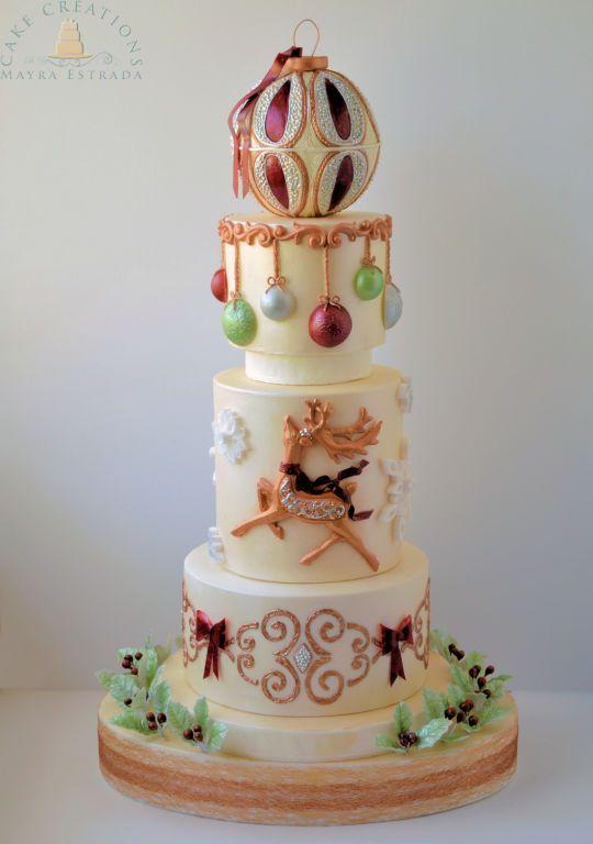 I Love Christmas - Cake by Cake Creations by ME - Mayra Estrada - CakesDecor