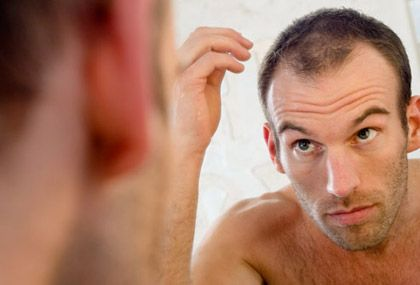 But the process is well understood: for male pattern baldness is responsible hormone dihydrotestosterone, or DHT - a by-product of the male hormone...