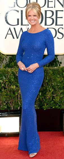 Nancy O'Dell at the 2013 Golden Globes