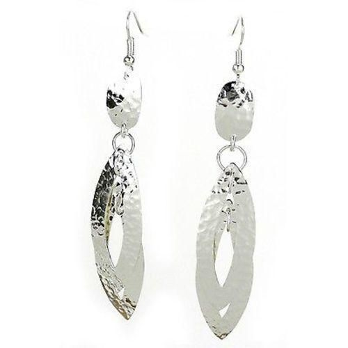 Hand crafted sterling silver earrings - sterling silver hanging earrings images