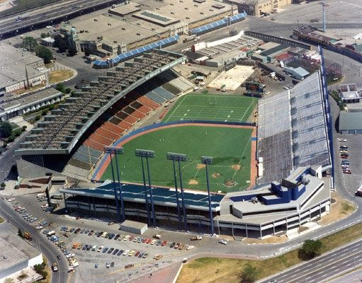 Exhibition Stadium - original home of the Blue jays