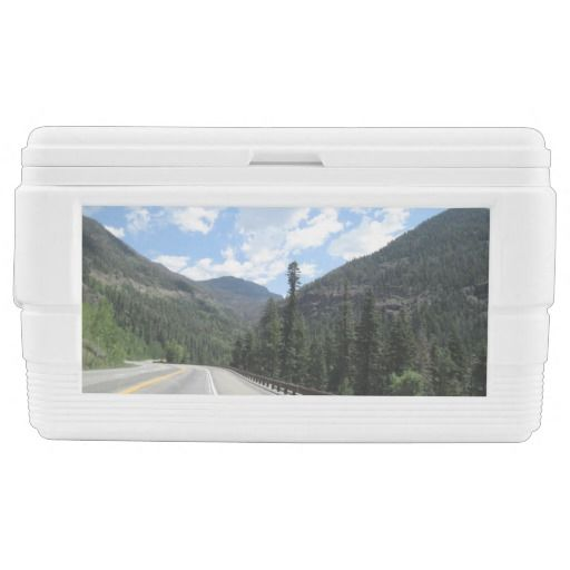 Rocky #Mountains Cooler http://zazzle.com/rinchen365flower*  #party          #picnic        #ice chest