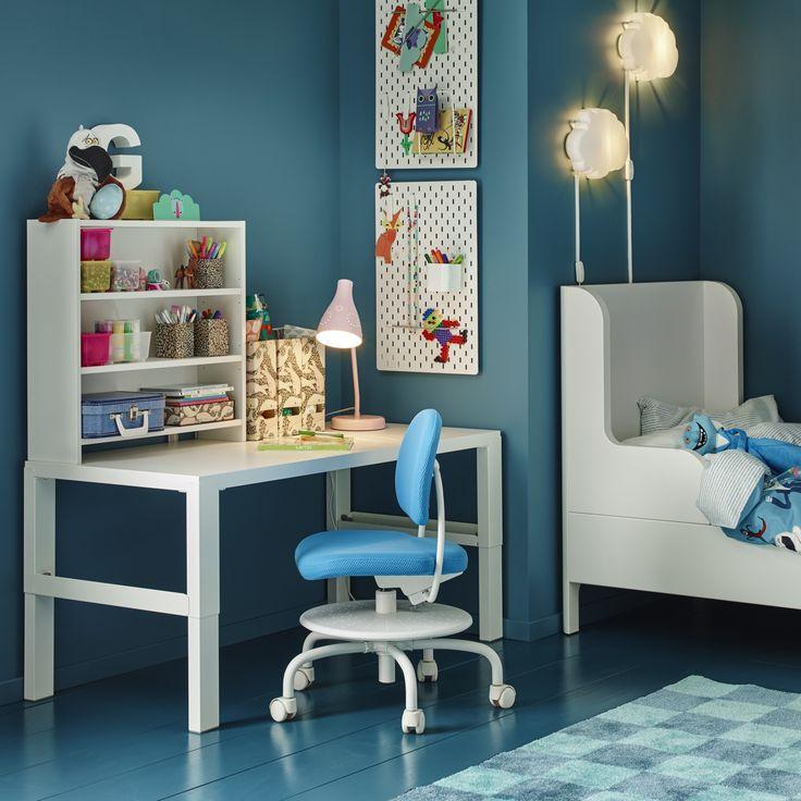 57 besten Kinderzimmer Bilder auf Pinterest Ikea deutschland - ideale schreibtisch im kinderzimmer