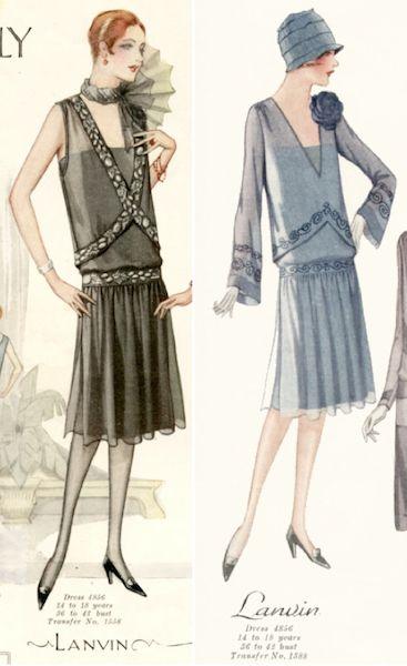 Lanvin Dress Fashions, Summer 1927
