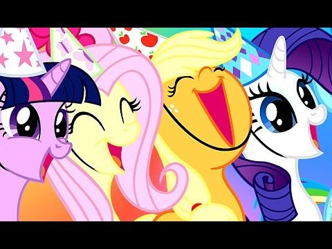 Май Литл Пони На Русском - Детские Мультфильмы Little Pony - Игры Для Де...
