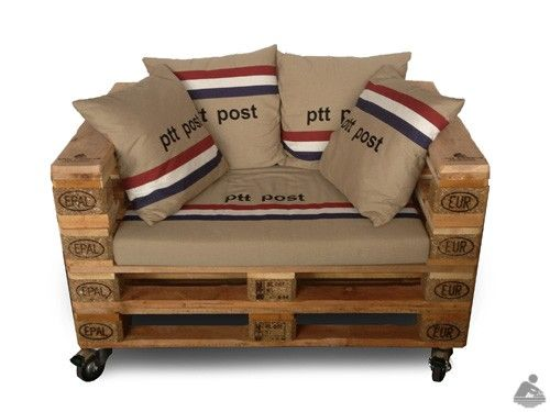 Loveseat Pallethout