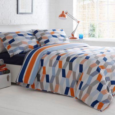 Designer blue geometric bedding set at debenhams com. 237 best HSS images on Pinterest   Duvet covers  Pillowcases and