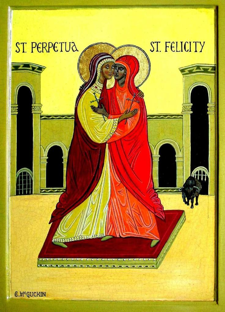 the martyrdoms of perpetua Perpetua and felicity lived in carthage, north africa it was the time of  hand in  hand, perpetua and felicity bravely faced martyrdom together.