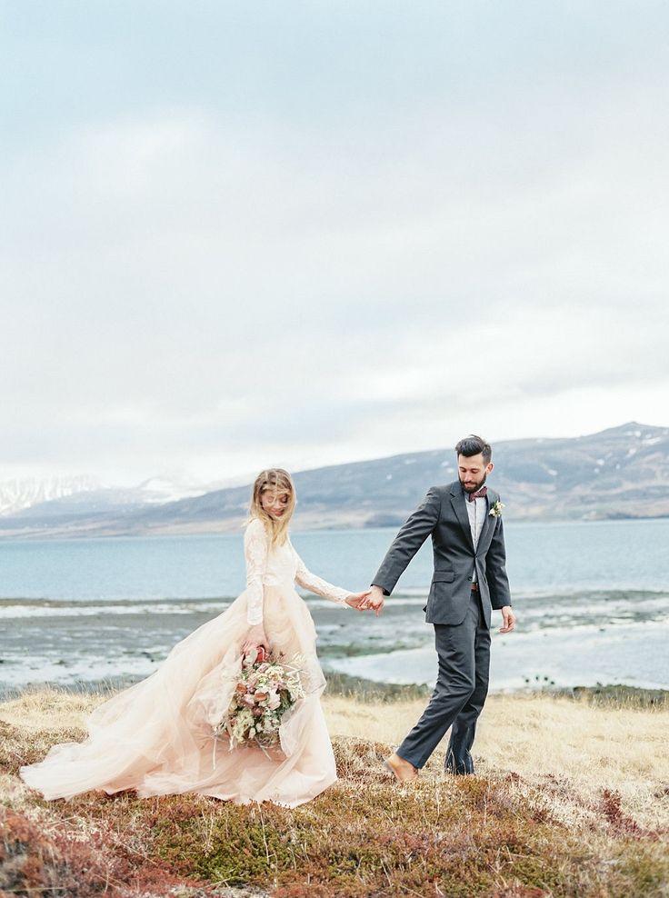 Stunning Organic Icelandic Inspiration by Lauren Fair Photography | Wedding Sparrow