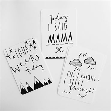 Archies. Baby Milestone Cards
