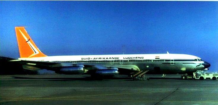 South African Airways Boeing 707-320 Johannesburg ZS-CKC