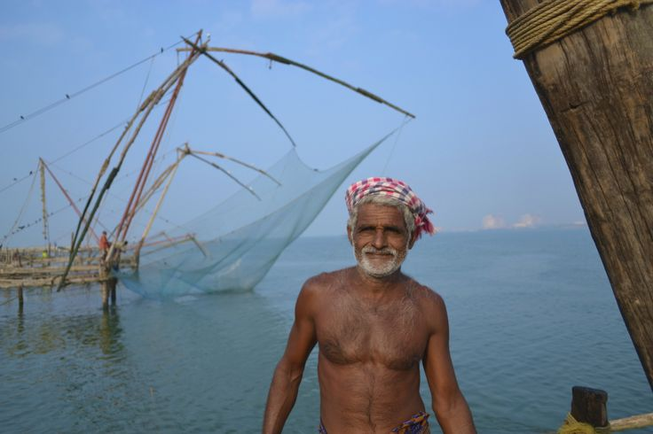 """Marconi is an original decedent of the Mongolian people (a Chinese state at the time) who were the originators of the """"Chinese Fishing Nets"""" in Kerala. These structures are at least 30 ft high and ..."""