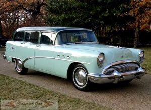 For Sale 1954 Buick Century Estate Wagon Hot Rod