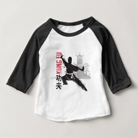 Kung Fu Baby T-Shirt - tap, personalize, buy right now!