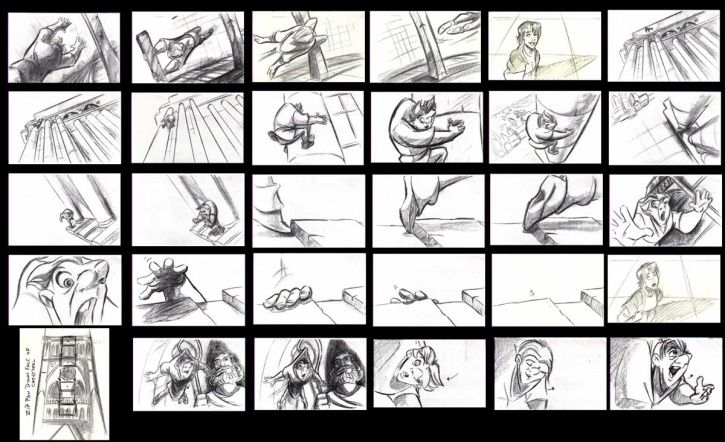 Animation Storyboard disney | DisneyToon Studios and The Sequels That Never Were, with Tod Carter ...
