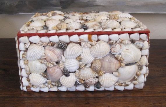 1000  images about jewelry shell boxes on pinterest