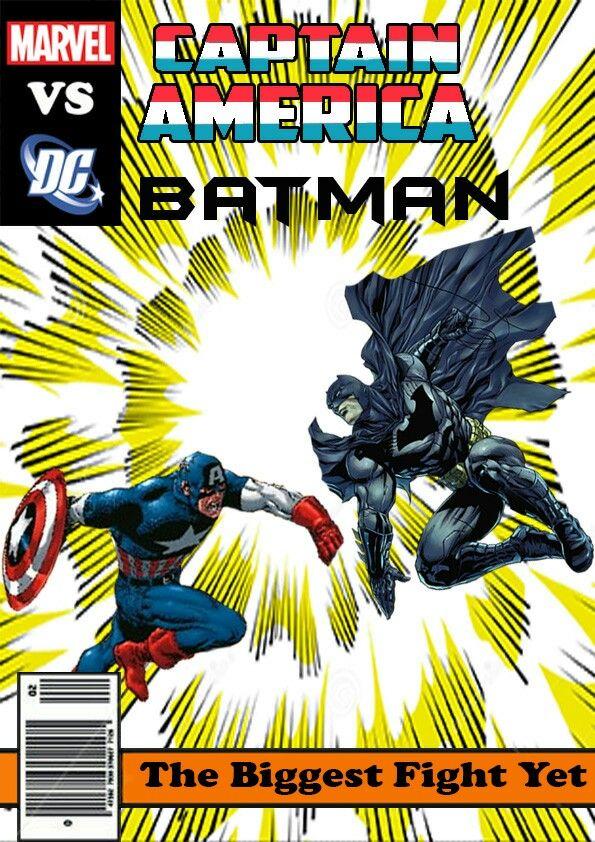 Captain america vs batman
